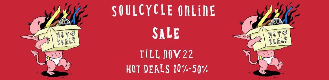 SOULCYCLE GARAGE SALE - ONLINE TOT 22 NOVEMBER
