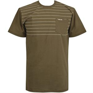Volume Stripes Pocket Tee